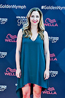 Corinne Brinkerhoff (Scenariste americaine)<br /> Monaco - 20/06/2017<br /> 57 festival TV Monte Carlo <br /> Foto Norbert Scanella / Panoramic / Insidefoto