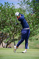 Eun Jeong Seong (KOR) watches her tee shot on 2 during round 4 of  the Volunteers of America Texas Shootout Presented by JTBC, at the Las Colinas Country Club in Irving, Texas, USA. 4/30/2017.<br /> Picture: Golffile | Ken Murray<br /> <br /> <br /> All photo usage must carry mandatory copyright credit (&copy; Golffile | Ken Murray)