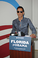 MIAMI, FL - AUGUST 02: Marc Anthony opens Obama For America Campaign Office In Little Havana on August 2, 2012 in Miami, Florida. &copy;&nbsp;mpi04/MediaPunch Inc. /NortePhoto.com<br />