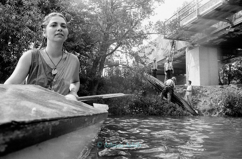 Indra having sunk a security canoe