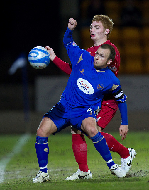 Jody Morris and Fraser Fyvie