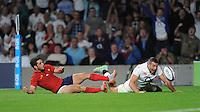 Jonny May of England has a try disallowed - 15/08/2015 - Twickenham Stadium - London <br /> Mandatory Credit: Rob Munro/Stewart Communications