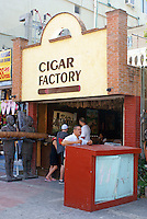 Cigar store  in Playa del Carmen, Riviera Maya, Quintana Roo, Mexico.