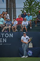Paul Dunne (IRE) watches his tee shot on 1 during round 4 of the Houston Open, Golf Club of Houston, Houston, Texas. 4/1/2018.<br /> Picture: Golffile | Ken Murray<br /> <br /> <br /> All photo usage must carry mandatory copyright credit (&copy; Golffile | Ken Murray)