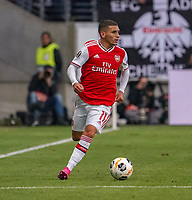 Lucas Torreira (Arsenal London) - 19.09.2019:  Eintracht Frankfurt vs. Arsenal London, UEFA Europa League, Gruppenphase, Commerzbank Arena<br /> DISCLAIMER: DFL regulations prohibit any use of photographs as image sequences and/or quasi-video.