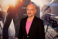 US actor Ben Kingsley poses during a photocall for the film Ender's Game in Madrid on October 3, 2013. (ALTERPHOTOS/Victor Blanco)