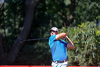 Andrea Pavan (ITA) on the 9th tee during the final round at the WGC HSBC Champions 2018, Sheshan Golf CLub, Shanghai, China. 28/10/2018.<br /> Picture Fran Caffrey / Golffile.ie<br /> <br /> All photo usage must carry mandatory copyright credit (&copy; Golffile | Fran Caffrey)