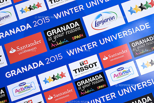 General view, <br /> FEBRUARY 11, 2015 - Short Track : <br /> 27th Winter Universiade Granada 2015 <br /> Short Track <br /> at Universiade Igloo, Granada, Spain. <br /> (Photo by AFLO SPORT) [1220]
