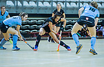 Almere - Zaalhockey  Amsterdam-HGC (v) . Yasmin Geerlings (A'dam)   .  TopsportCentrum Almere.    COPYRIGHT KOEN SUYK