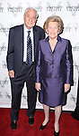 Garry Marshall and wife Barbara Marshall attends the Off-Broadway opening Night Performance of 'Billy & Ray' at the Vineyard Theatre on October 20, 2014 in New York City.