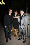 David Fumero & Melissa Gallo & Mark Lawson attend ABC Daytime Soap Casino Night with the Stars on October 28, 2010 at Guastavinos, New York City, New York. (Photo by Sue Coflin/Max Photos)