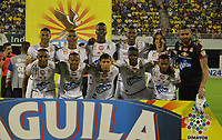 BARRANCABERMEJA -COLOMBIA, 10-08-2016: Jugadores del Tolima posan para una foto previo al partido entre Alianza Petrolera y Deportes Tolima por la fecha 3 de la Liga Águila II 2018 disputado en el estadio Daniel Villa Zapata de la ciudad de Barrancabermeja. / Players of Tolima pose to a photo prior the match between Alianza Petrolera and Deportes Tolima for the date 3 of the Aguila League II 2018 played at Daniel Villa Zapata stadium in Barrancabermeja city. Photo: VizzorImage / Jose Martinez / Cont
