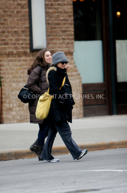 WWW.ACEPIXS.COM . . . . .....February 9 2011, New York City....Actress Natalie Portman shops at her local pharmacy before walking home in the cold on February 9 2011 in New York City  ....Please byline: NANCY RIVERA- ACEPIXS.COM.... *** ***..Ace Pictures, Inc:  ..Tel: 646 769 0430..e-mail: info@acepixs.com..web: http://www.acepixs.com