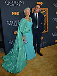 "Helen Mirren, Philip Martin 027 attends the Los Angeles Premiere Of The New HBO Limited Series ""Catherine The Great"" at The Billy Wilder Theater at the Hammer Museum on October 17, 2019 in Los Angeles, California."