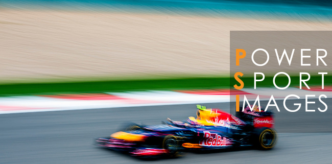 Red Bull Racing driver Mark Webber of Australia speeds his car during the UBS Chinese F1 Grand Prix at Shanghai International circuit April 13, 2012. Photo by Victor Fraile
