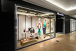 Massimo Dutti boutiques in Central Hong Kong decorated with horse elements ahead the Hong Kong Masters 2014 on February 20, 2014 at Asia World Expo in Hong Kong, China. Photo by Mike Pickles / illume visuals