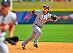 15 March 2009: Detroit Tigers' infielder Will Rhymes in action during a Spring Training game against the Washington Nationals at Space Coast Stadium in Viera, Florida. The Tigers shut out the Nationals 3-0 in the Grapefruit League matchup. Mandatory Photo Credit: Ed Wolfstein Photo
