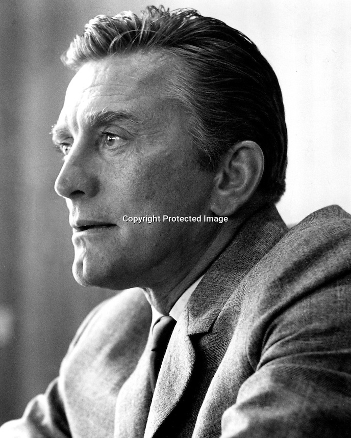 Actor Kirk Douglas .(1964 photo by Ron Riesterer)