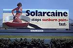 Solacaine suntan lotion billboard in Los Angeles