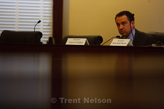 Trent Nelson  |  The Salt Lake Tribune.Rep. Greg Hughes. Legislative leaders heard arguments for and against former Rep. Craig Frank keeping his seat in the Utah House Tuesday, January 18, 2011.