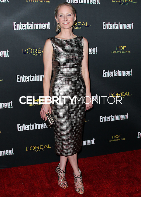 WEST HOLLYWOOD, CA, USA - AUGUST 23: Anne Heche arrives at the 2014 Entertainment Weekly Pre-Emmy Party held at the Fig & Olive on August 23, 2014 in West Hollywood, California, United States. (Photo by Xavier Collin/Celebrity Monitor)