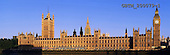 Tom Mackie, LANDSCAPES, panoramic, photos, Big Ben & Houses of Parliament, London, England, GBTM200079-1,#L#