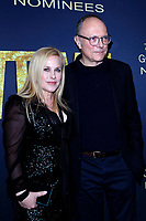 LOS ANGELES - JAN 5:  Patricia Arquette, Michael Tolkin at the Showtime Golden Globe Nominees Celebration at the Sunset Tower Hotel on January 5, 2019 in West Hollywood, CA