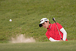 Golfer Pei-Wen Huang of Taiwan during the 2017 Hong Kong Ladies Open on June 10, 2017 in Hong Kong, China. Photo by Marcio Rodrigo Machado / Power Sport Images