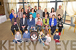 William O'Riordan, Ardfert celebrating his 60th birthday with family and friends at Ballyroe Heights Hotel on Sunday
