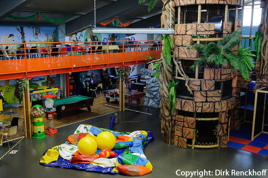 Indoor-Spielpark Indyland in Foetz, Luxemburg