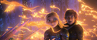 HOW TO TRAIN YOUR DRAGON: THE HIDDEN WORLD (2019)<br /> JAY BARUCHEL (R)<br /> *Filmstill - Editorial Use Only*<br /> CAP/FB<br /> Image supplied by Capital Pictures