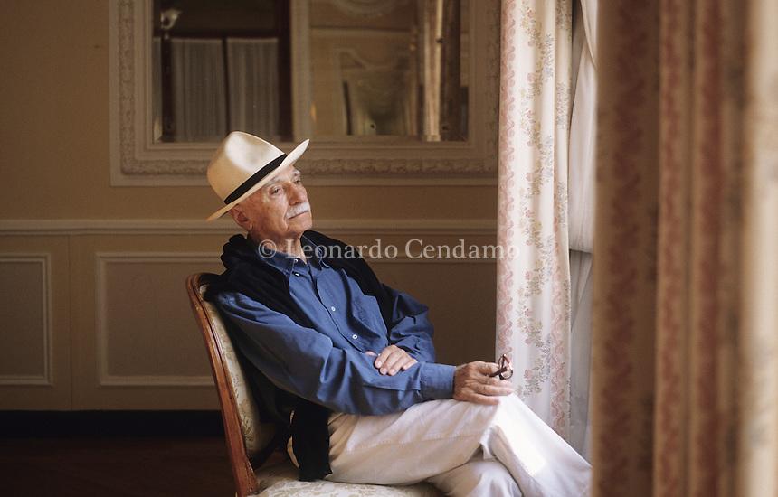 Mario Monicelli, ( Viareggio, 16 maggio 1915- Roma, 29 novembre 2010 ) © stato un regista e sceneggistore italiano tra i principali esponenti della commedia italiana.  ¬© Leonardo Cendamo