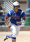 Wildcats' Briauna Carter runs the bases against College of Southern Nevada at Edmonds Sports Complex Carson City, Nev., on Saturday, May 2, 2015.<br /> Photo by Cathleen Allison