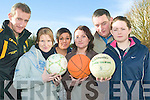 Sport and rec: Students of the new Sports and Recreation course at the Listowel Community College were Mike Kennelly, Tracey O'Gorman, Sarah Barry, Davina O'Connell, Tom O'Sullivan and Aine Dillon.