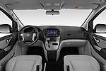 Stock photo of straight dashboard view of a 2019 Hyundai H1-People Executive 5 Door Mini Van