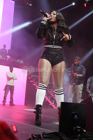 NEW YORK, NY - OCTOBER 17, 2014<br /> <br /> Ashanti performs at the Def Jam 30 Anniversary concert  at The Barclays Center, October 16, 2014 in New York City.<br /> <br /> <br /> &copy; Walik Goshorn / MediaPunch