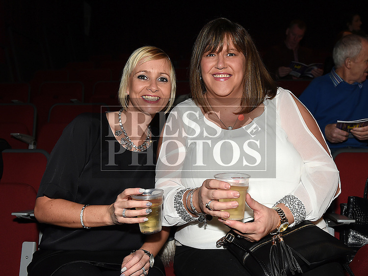 Aileen McCarney and Nuala O'Connor pictured at Duleek/Bellewstown Strictly Come Dancing at the TLT. Photo:Colin Bell/pressphotos.ie