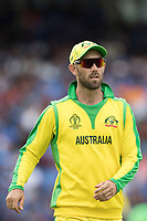 Glenn Maxwell (Australia) during India vs Australia, ICC World Cup Cricket at The Oval on 9th June 2019