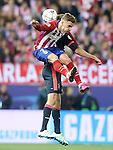 Atletico de Madrid's Antoine Griezmann during Champions League 2015/2016 Semi-Finals 1st leg match. April 27,2016. (ALTERPHOTOS/Acero)
