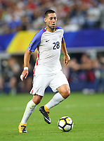 Arlington, TX - Saturday July 22, 2017: Clint Dempsey during a 2017 Gold Cup Semifinal match between the men's national teams of the United States (USA) and Costa Rica (CRC) at AT&T stadium.