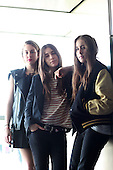 HAIM - photosession in Paris France - 27 Sep 2013.  Photo credit: Manon Violence/Dalle/IconicPix