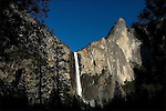 YOSEMITE NATIONAL PARK.VIEW OF BRIDALVEIL FALL .06-14-2005.PHOTO BY © FITZROY BARRETT  2005