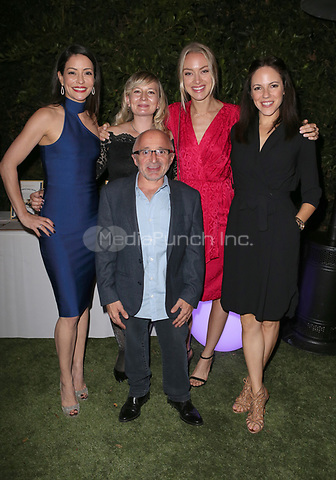 LOS ANGELES, CA - NOVEMBER 4: Emmanuelle Vaugier, Anna Silk, Rachel Skarsten, Richard Howland, at The 2017 Fluffball Benefiting Forgotten Horses Rescue! at The Lombardi House In Los Angeles, California on November 4, 2017. Credit: Faye Sadou/MediaPunch