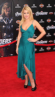 HOLLYWOOD, CA - APRIL 11: Renee Olstead attends the World premiere of 'Marvel's Avengers' at the El Capitan Theatre on April 11, 2012 in Hollywood, California.