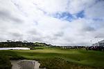 The 18th Green. McKayson NZ Women's Golf Open, Round Five, Windross Farm Golf Course, Manukau, Auckland, New Zealand, Monday 2nd October 2017.  Photo: Simon Watts/www.bwmedia.co.nz