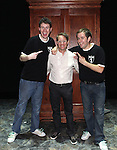 Daniel Clarkson & Jefferson Turner with producer Corey Ross on Opening Night for 'Potted Potter' at the Little Shubert Theatrenin New York City, NY on June 3, 2012. ***Exclusive Coverage***
