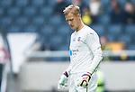 ***BETALBILD***  <br /> Solna 2015-05-31 Fotboll Allsvenskan AIK - Helsingborgs IF :  <br /> Helsingborgs m&aring;lvakt P&auml;r Hansson deppar under matchen mellan AIK och Helsingborgs IF <br /> (Foto: Kenta J&ouml;nsson) Nyckelord:  AIK Gnaget Friends Arena Allsvenskan Helsingborg HIF portr&auml;tt portrait depp besviken besvikelse sorg ledsen deppig nedst&auml;md uppgiven sad disappointment disappointed dejected