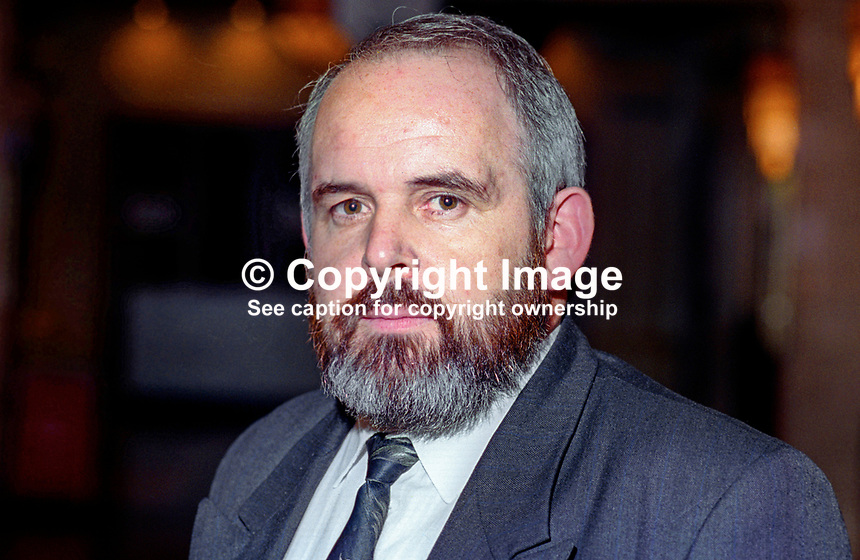 Francie Molloy, Sinn Fein, prominent member, Mid-Ulster, early involvement with N I Ireland Civil Rights movement, at UK Labour Party annual conference, September 1994. 199409007<br />