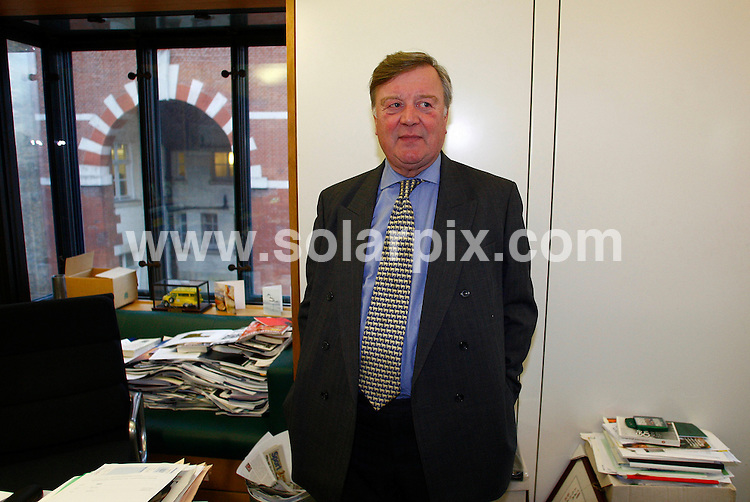 **ALL ROUND PICTURES FROM SOLARPIX.COM**.**WORLDWIDE SYNDICATION RIGHTS**.Ken Clarke Member of Parliament for Rushcliffe and Shadow Secretary of State for Business, Enterprise and Regulatory Reform. Pictured in his office in Westminister, London, UK. 20 January 2009..This pic: Ken Clarke, Kenneth ..JOB REF: 8688 DBL     DATE: 20_01_2009.**MUST CREDIT SOLARPIX.COM OR DOUBLE FEE WILL BE CHARGED**.**ONLINE USAGE FEE GBP 50.00 PER PICTURE - NOTIFICATION OF USAGE TO PHOTO @ SOLARPIX.COM**.**CALL SOLARPIX : +34 952 811 768 or LOW RATE FROM UK 0844 617 7637**