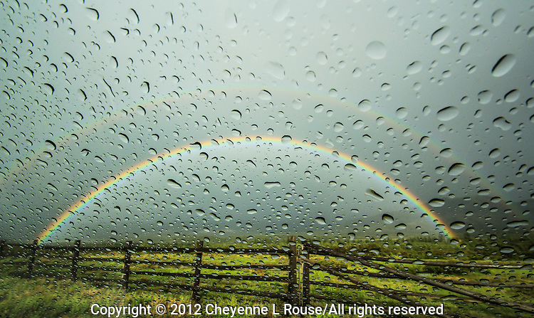 Raindrops & Rainbows - Colorado - the Dallas Divide in the San Juan Mountains